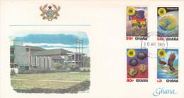 Ghana 1983 Commonwealth Day FDC - Ghana (1957-...)