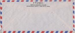 India 1981  Tibetan Children's Village, Dharamsala Cover To Austria # 81418   Inde  Indien - India