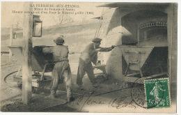 La Ferriere Aux Etangs Mines Denain Anzin Mineur Extrayant Le Minerai  Edit Roussel Argentan - Mines