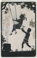 Jeux Enfants  Balançoire Swing  Artist CardMeissner Buch . Timbrée 1905 Bad PPSPRINCE - Spielzeug & Spiele