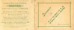 Dépliant Avec 12 Vues - Souvenir De Luneville - Librairie Bastien - Obj. 'Souvenir De'
