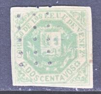 Venezuela 41 Variety  1879 Issue  Fault   (o) - Venezuela