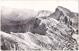 26. Pf. Vue Aérienne Sur Le Grand Veymont Et Le Mont Aiguille - Francia