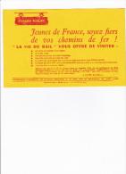 BUVARD  LA  VIE  DU RAIL  13cmX21   PARFAIT ETAT - Buvards, Protège-cahiers Illustrés