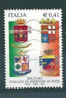 2002 MILITARI MISSIONE Di PACE, 0,41 Euro USATO - 6. 1946-.. Repubblica