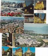 25 KARTEN STAD LAUSANNE  2 SCANS - Cartoline