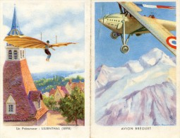 Livret  Avec Conditions Engagement Forces Aériennes De Terre - Desvarreux - Avion Breguet - Lilienthal - Aviation