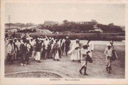 Djibouti-Gibuti  Festa Mussulmana  Anni 30/40 - Gibuti
