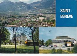 SAINT-EGREVE (38) Vue Générale, Mairie, La Poste (archhitecte Egal) - Sonstige Gemeinden
