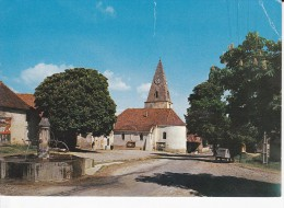 PREBOIS, MENS (38), Camp De Vacances De L'Oeuvre De La Jeunesse Jean-Joseph Allemand, Eglise, Fontaine, Citroën 2cv - Mens