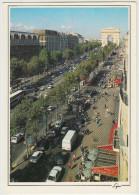 Paris: CITROËN AX & TRACTION AVANT, AUSTIN MINI, RENAULT 4 EXPRESS Etc -  L'Avenue Des Champs-Elysées - France - Turismo