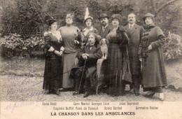 -  CPA - LA CHANSON DANS LES AMBULANCES -  259 - Patriotiques