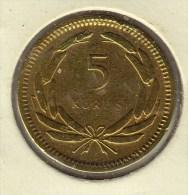 @Y@   Turkije   5 Kurus  1951   Pr   (2707) - Türkei