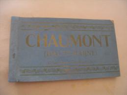 CARNET DE 7 CARTES (sur12) DE CHAUMONT. - Chaumont