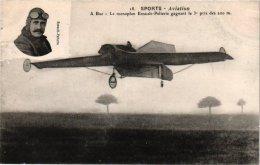 2 Cpa LUCHTVAART AVIATION LUFTFAHRT  SPORTS AVIATION Le Vuia à Bagatelle  A Buc  Monoplan Esnault Pelterie Pioneer VG - ....-1914: Precursores
