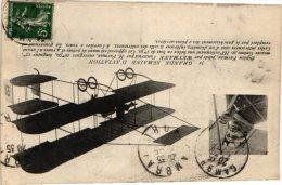 AVIATION    LUCHTVAART   3 CP Nieuport   Biplan Farman Weymann Métrot - ....-1914: Precursors