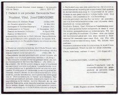 DP: Priester - Prudent Dhooghe - Sint Niklaas - Geraardsbergen - Temse - Lokeren - Beervelde - Gent - Vieux Papiers