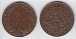 **** PAYS-BAS - NETHERLANDS - 2 1/2 CENTS 1905 WILHELMINA I **** EN ACHAT IMMEDIAT - 2.5 Cent