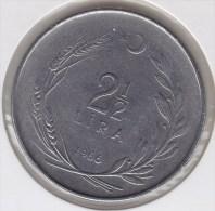 @Y@   Turkije   2 1/2 Lira  1966     (2685) - Turquie