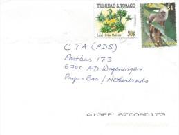Trinidad & Tobago 2005 Herb Medicine Capuchin Monkey Ape Cover - Trinidad En Tobago (1962-...)