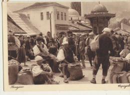 AK BOSNIEN-HERZEGOWINA SARAJEVO STRASSENBILD GETEIDEMARKT BASCARSIJA - Bosnia Erzegovina