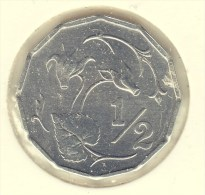 @Y@    Cyprus  1/2 Cent  1983   UNC  (2713) - Cyprus