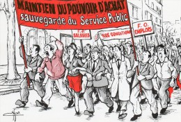 F.O.services Publics...a Mr Jacques CHIRAC - Labor Unions