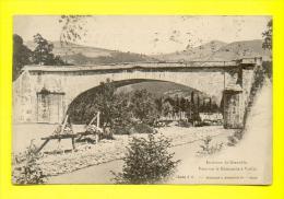 CPA  FRANCE  38  -  VIZILLE  -  Pont Sur La Romanche  ( Dos Simple 1901 Recto-Verso ) - Vizille