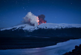 (N61-098 )  Vulkan Volcano Volcan Volcán Vulkanen , PRE-STAMPED CARD, Postal Stationery - Vulcani