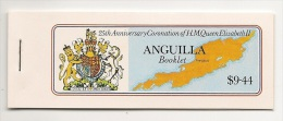 Complete MINT N H Booklet - 4 Panes - 1978 - 2 Scans - Anguilla (1968-...)