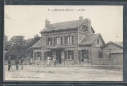 - CPA 62 - Aubigny-en-Artois, La Gare - Aubigny En Artois