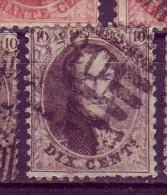 Belgique N° 14 PLII D12.5 N° 119 De La Planche P80 - 1863-1864 Medaglioni (13/16)
