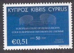CIPRO 2009  50° CORTE EUROPEA  MNH - Europese Gedachte