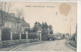 RANES  Route D'Ecouché  Pensionnat  Animée - France