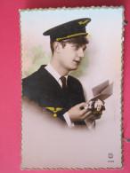 Fantaisie - Aviateur - Armée De L´air - PC Paris N° 6064 - Scans Recto-verso - Autres