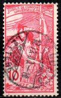 SWITZERLAND 1900 25th Anniv Of U.P.U - 10c Standing Helvetia  FU - Gebraucht