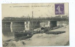 CPA- Levallois Perret - Le Pont Du Chemin De Fer - Levallois Perret