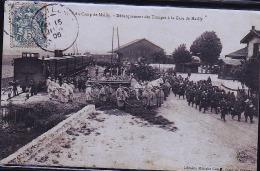 CAMP DE MAILLY DEBARQUEMENT - Regimientos