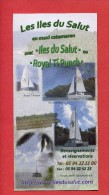 VP - Catamaran Visite Iles Du Salut En Guyane - Bateau - Voilier - DOM TOM - Bagne - 3 Scans - Boats