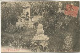 Sisteron 55 Ecrivain Paul Arene Dans Son Jardin De Mardaric Né A S. Mort A Antibes - Sisteron