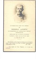 Religion Carte Souvenir - Frederic LAPORTE S/directeur Du Laboratoire Central D'electricité - Announcements