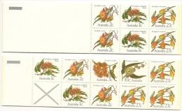 Complete 2 X MINT N H Booklets - 2 Scans - Markenheftchen