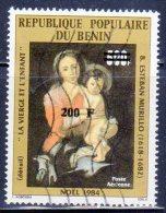 BENIN - TIMBRE SURCHARCHE -  N° 895  Obl (1995) - Benin – Dahomey (1960-...)