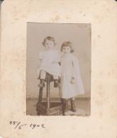 FOTOGRAFIA-PHOTOGRAPHIE-FOTO-7,50 X 9- 1902 - Fotografia