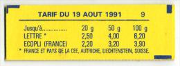 CARNET MARIANNE BRIAT N° Y&T 2715-C1 - Carnets