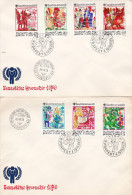 Hungary 1979  International Year Of The Child FDCs - FDC