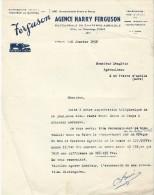 Tracteurs/Agriculture/ Facture/ Agence HARRY-FERGUSON/ Distributeur Officiel/Evreux/Eure/1950   AC66 - Tracteurs