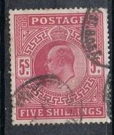 GRANDE BRETAGNE N°119 - Used Stamps