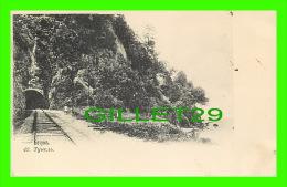 SOUKHOUMI OU SOUKHOUM, GÉORGIE - TUNNEL DE TRAIN, ANIMÉE ENVIRON 1900 - PHOTOTYPIE M. PIKOWSKY - - Géorgie