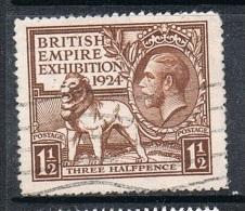 GRANDE BRETAGNE N°172 - Used Stamps